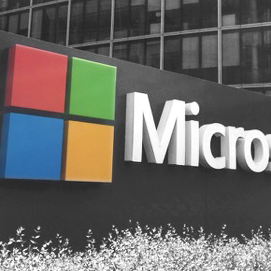Logo Microsoft Campus Issy Mes Moulineaux