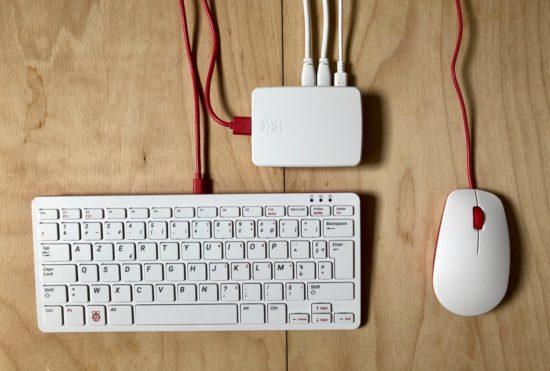 Installer Nextcloud sur un Raspberry Pi4 Modèle B et clavier souris officielles