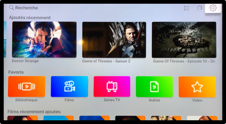 Transformer votre NAS Synology en serveur multimédia avec l'application Infuse sur Apple TV 4K